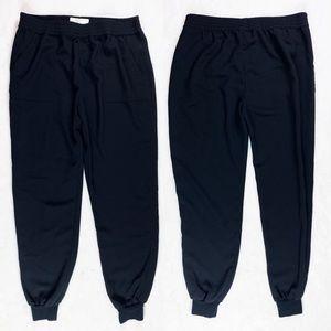 JOIE Joggers Flat Front Dress Pants Pockets crop